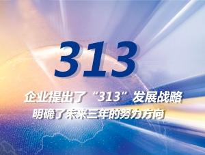 На предприятии разработана стратегия развития «313». Обозначены направления развития на ближайшие три года.